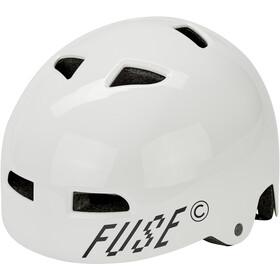 FUSE Alpha Casco, glossy white